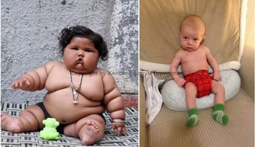 Сколько должен весить 5 месячный ребёнок