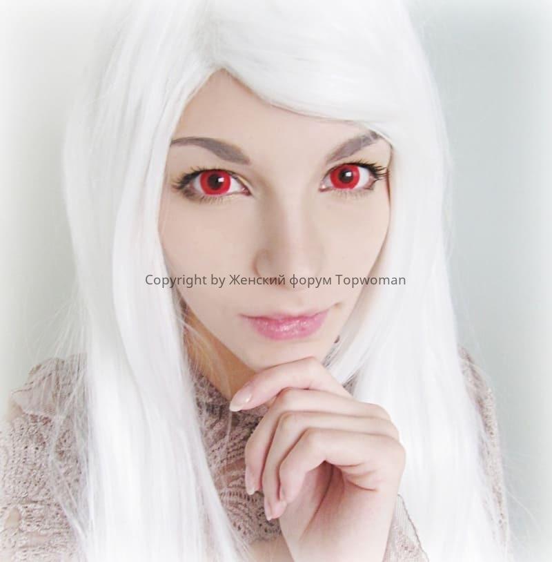 Альбиносы с красными глазами