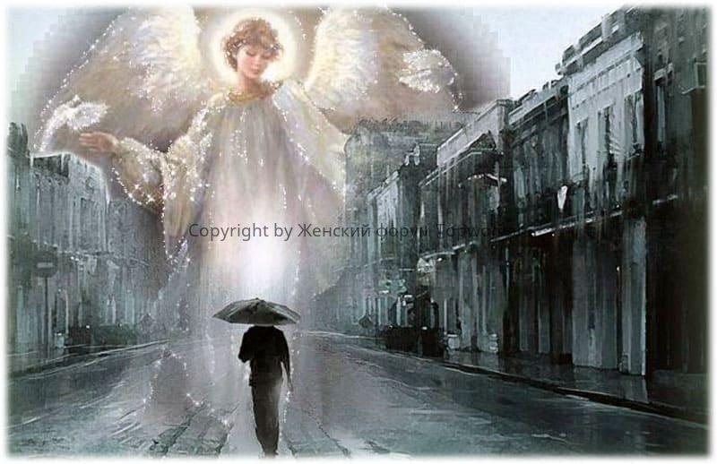 В сорок лет человека покидает ангел-хранитель