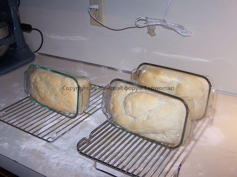 Домашний белый хлеб в духовке