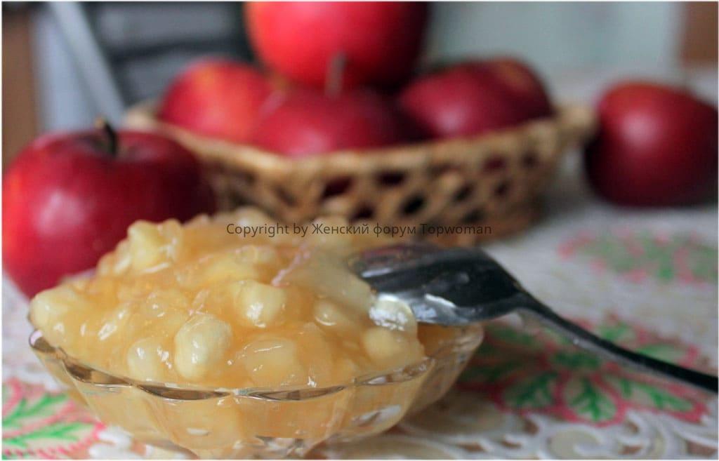 Как карамелизовать яблоки для пирога на сковороде