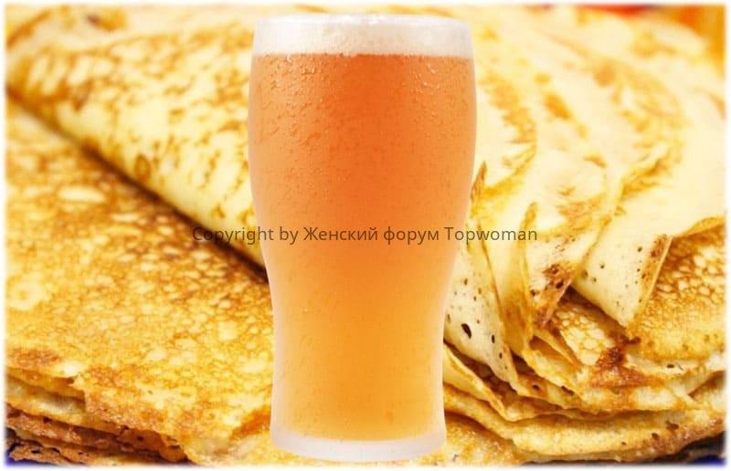 Нереально вкусные блины на пиве