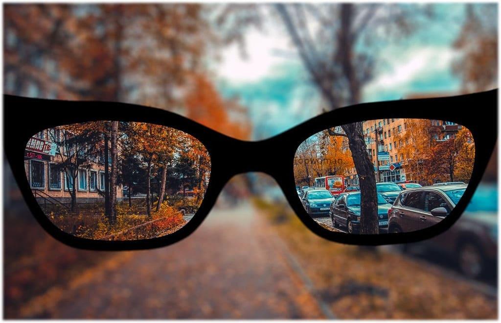Как видит близорукий человек