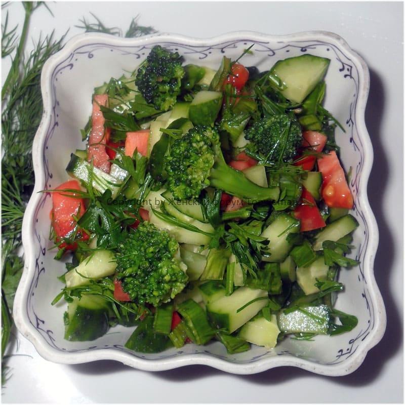 Рецепты из сырой брокколи