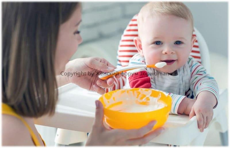 Когда можно подсаливать пищу ребёнку