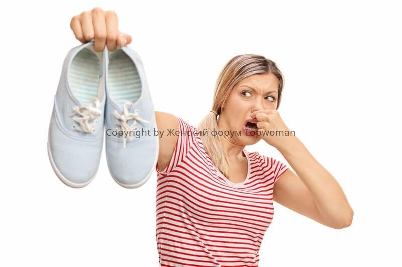Что делать, если потеют ноги в обуви