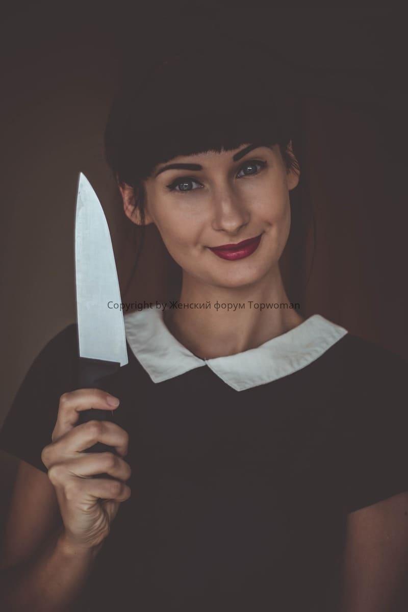 Дарят ли ножи женщинам