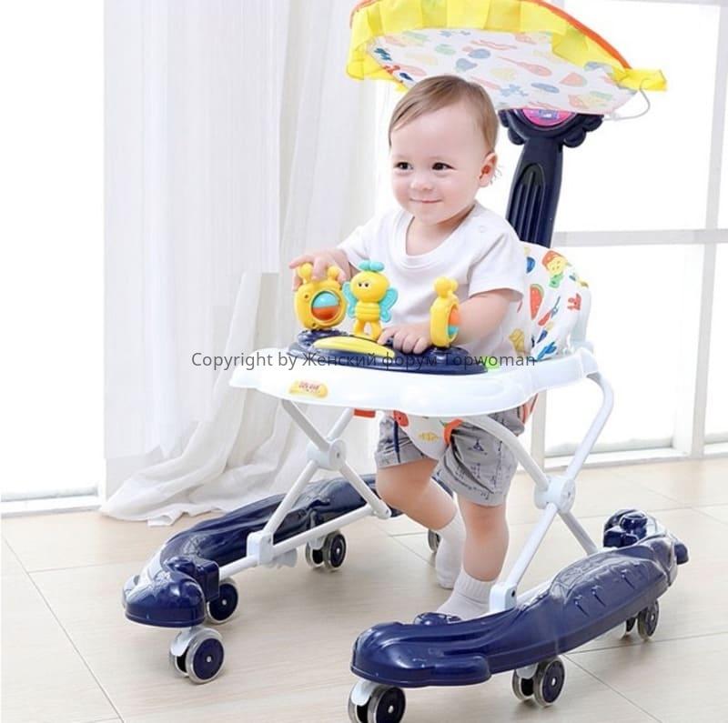 Какие ходунки лучше для ребёнка