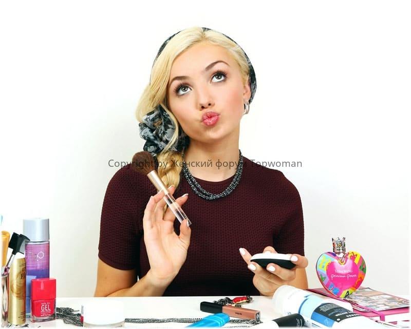 Косметика для макияжа лица, список