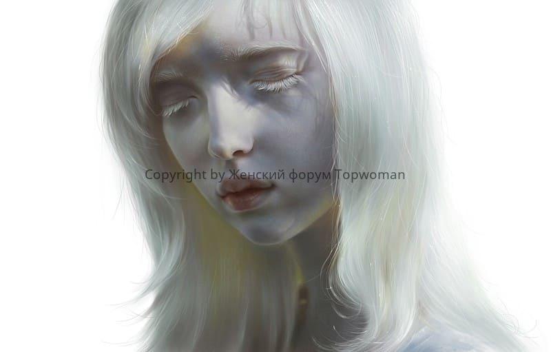 Девушки альбиносы