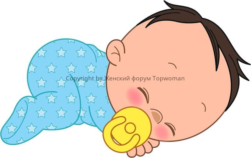 При хорошем самочувствии младенца помощь не требуется