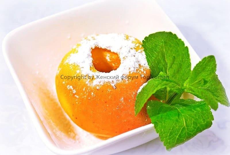 Яблоки в сахарной пудре
