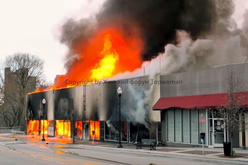 К чему снится пожар в торговом центре