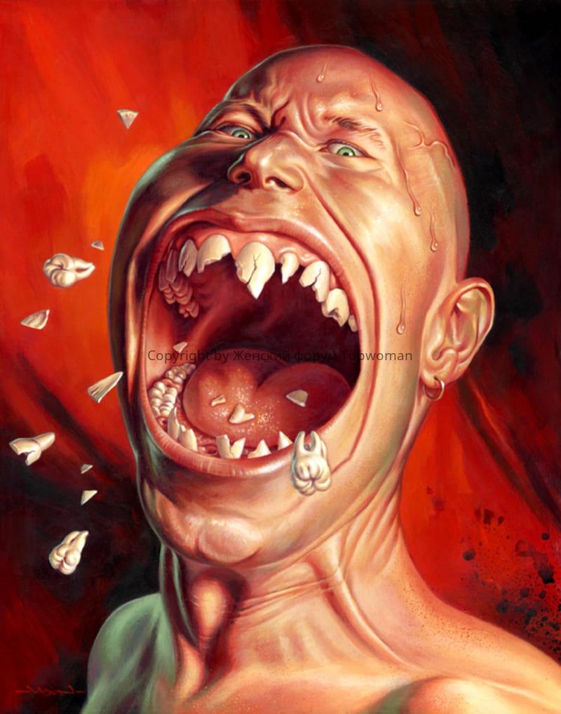 К чему снятся зубы, выпадают и крошатся