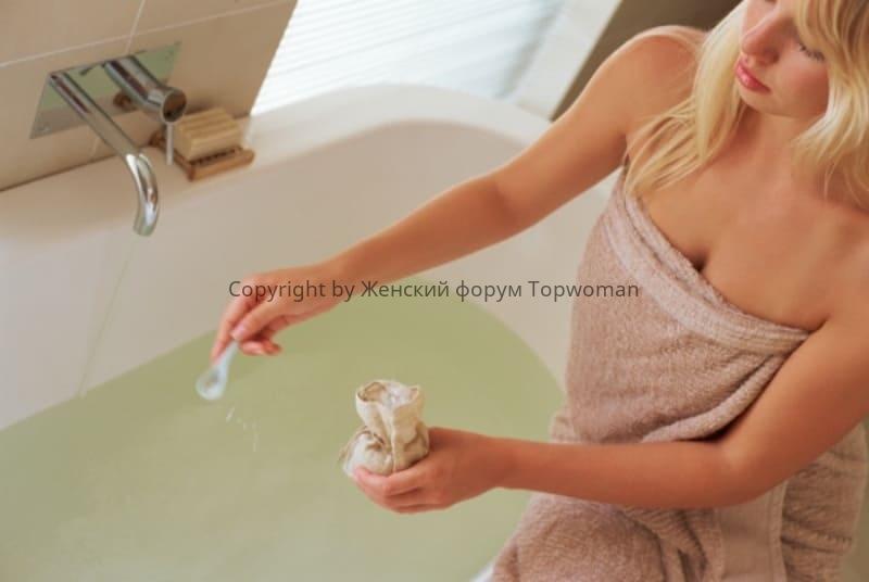 Ванна с настойкой дубовой коры