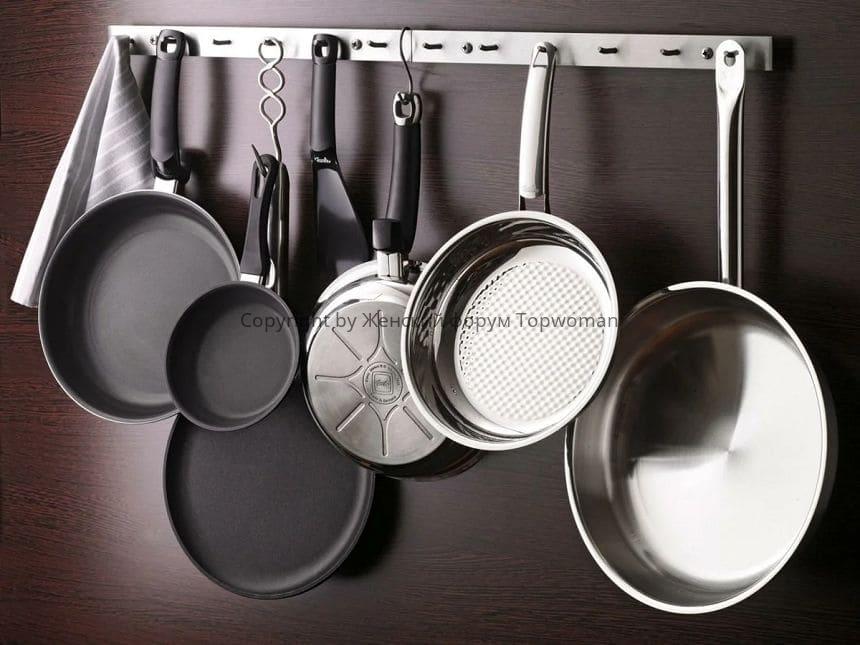 Как почистить сковородку от нагара