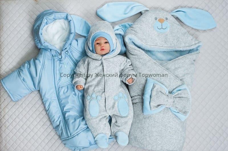 Одежда на зиму для новорождённого
