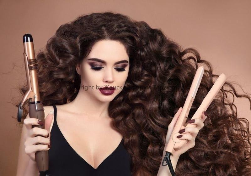 Как завить волосы утюжком для выпрямления