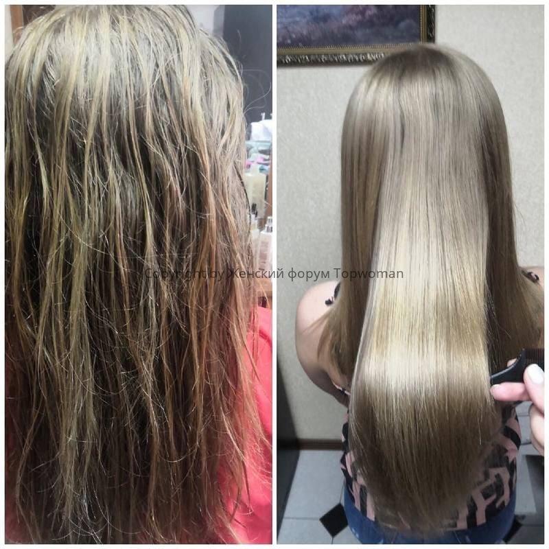 Холодное восстановление волос по технологии N-Solutions