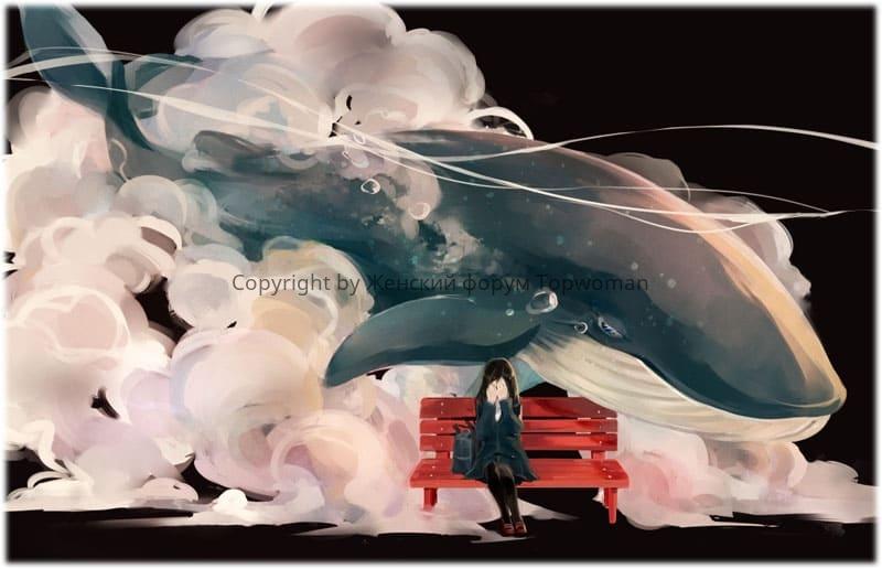 К чему снится кит в воде