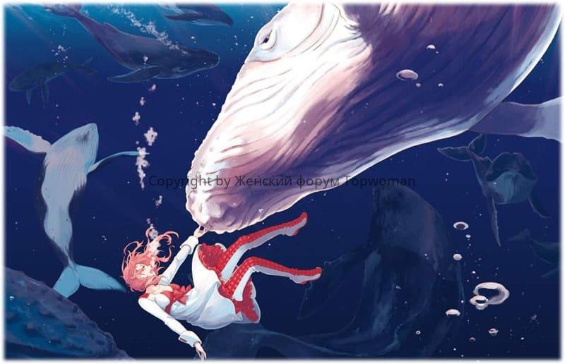 К чему снится плавать с китом