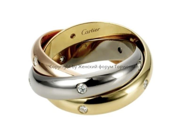 Сплетённое кольцо невесты