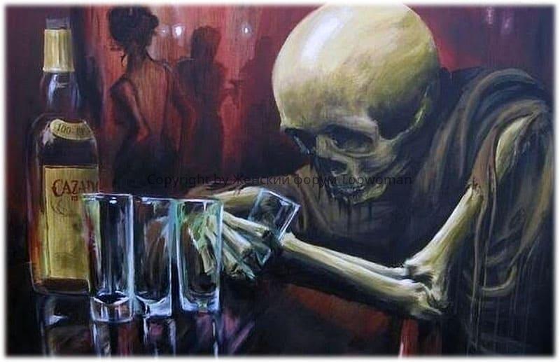После пьянки снятся кошмары