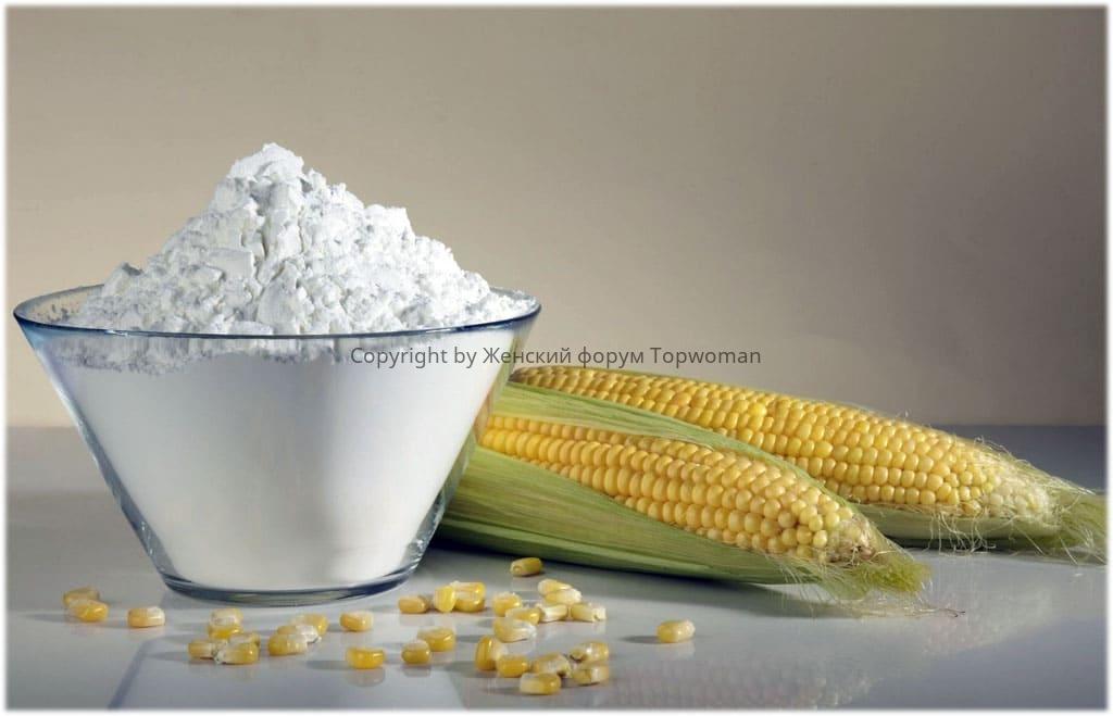 Чем заменить кукурузный крахмал