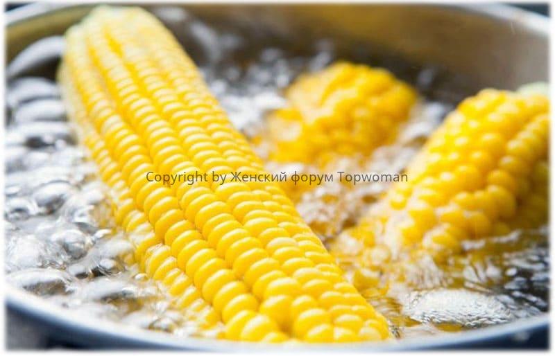 Сколько варить кукурузу в кастрюле