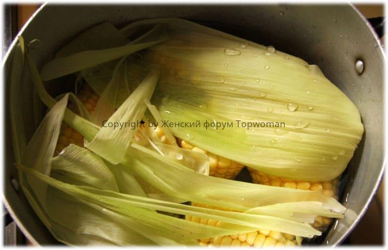 ак сварить кукурузу в початках