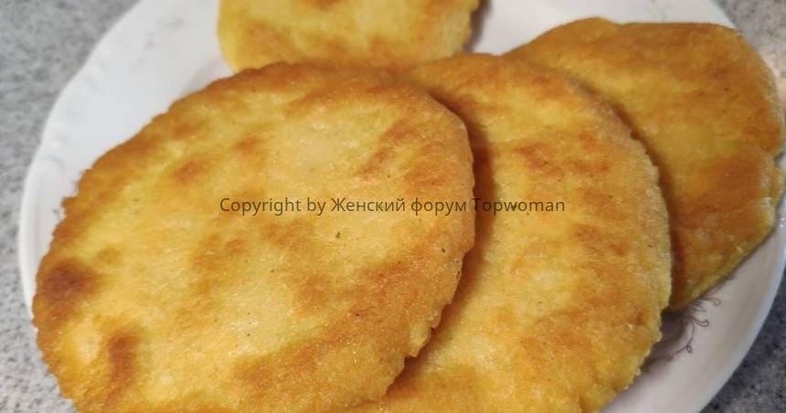 Рецепт лепёшек из кукурузной муки