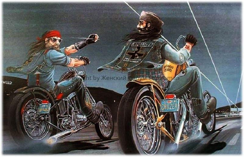 К чему снится кататься на мотоцикле