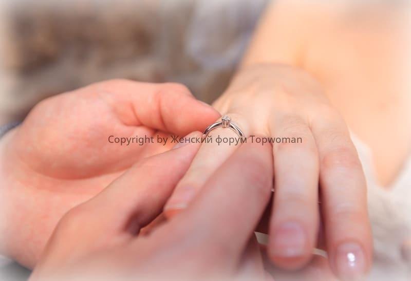 Можно ли делать предложение серебряным кольцом