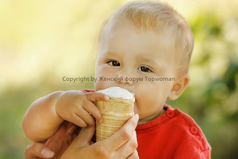 Можно ли есть мороженое при ангине детям