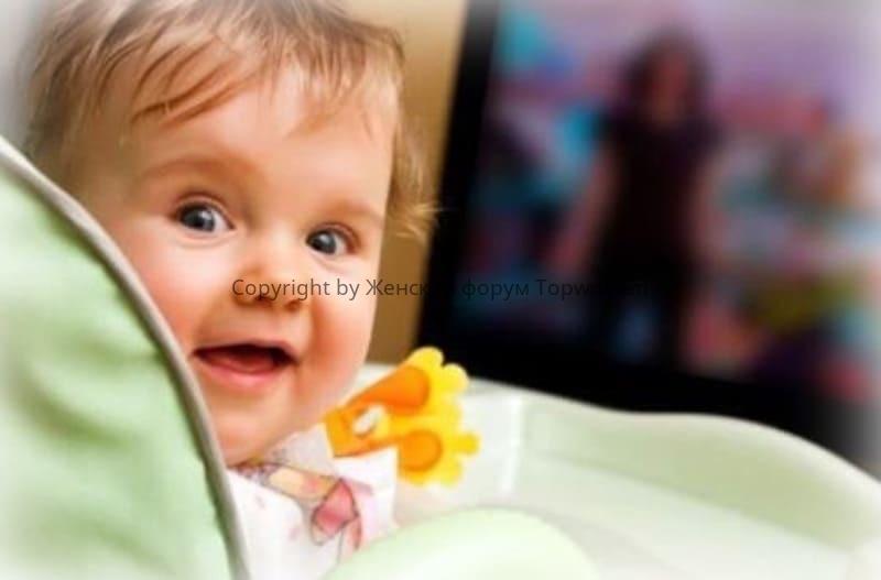Можно ли смотреть телевизор детям до года