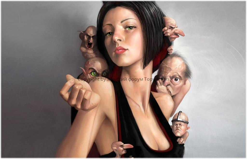 Признаки нарциссизма у женщин