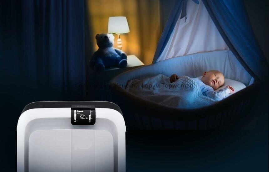 Влажность воздуха в детской комнате