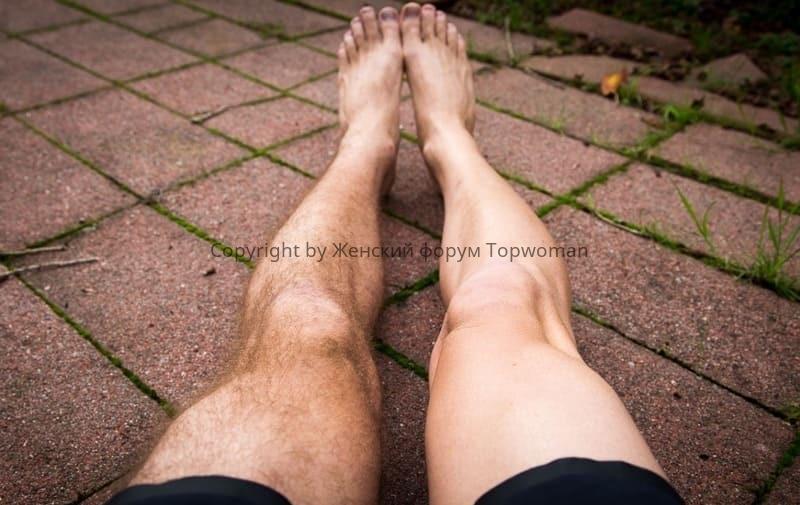 Нужно ли брить ноги мужчинам