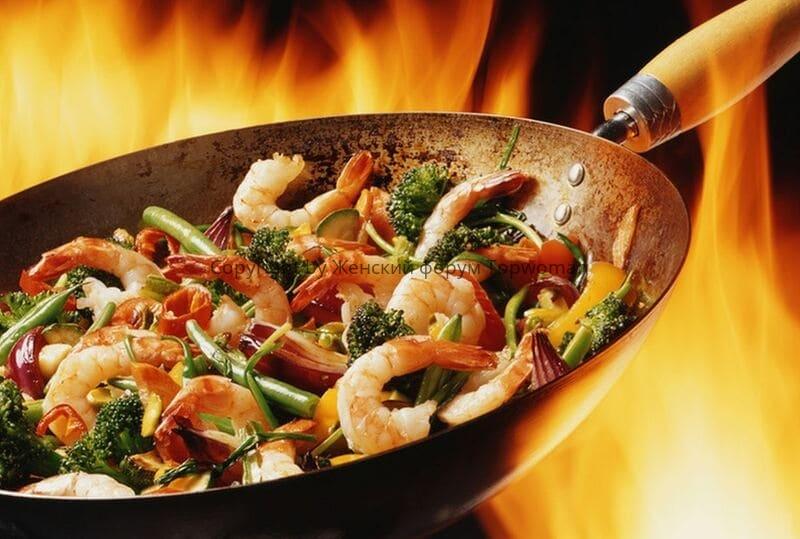 Особенности паназиатской кухни