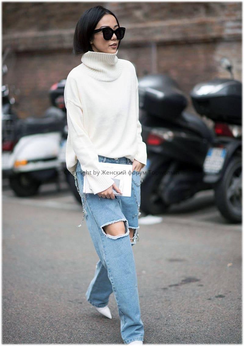 Оверсайз джинсы для женщин
