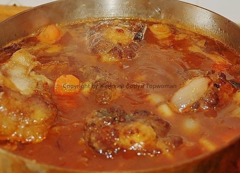 Oxenschwanz Suppe
