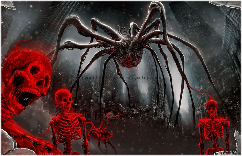 К чему снится большой паук женщине?