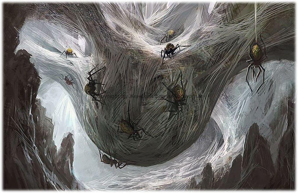 К чему снится много пауков женщине?