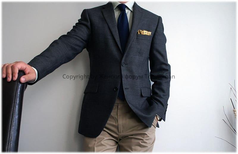 Как должен сидеть пиджак на мужчине