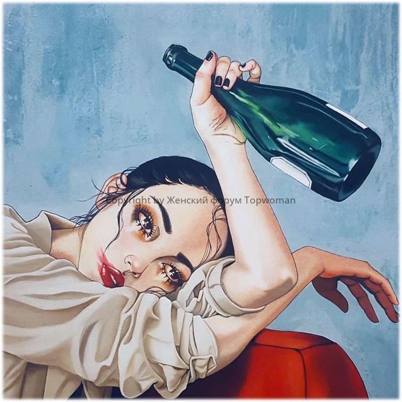 Почему женщина начинает пить?