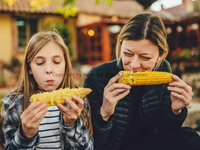 Польза кукурузы для женщины