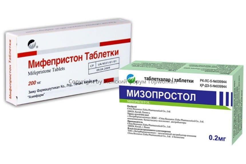 Препараты для абортирования