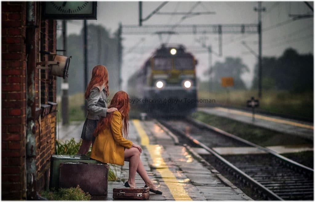 к чему снится провожать на поезд