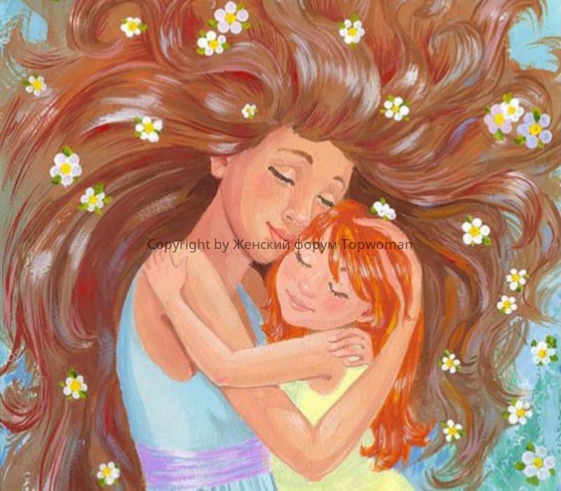 Рисунок маме от дочери