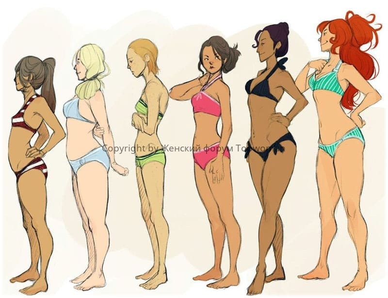 Идеальный рост и вес для девушки